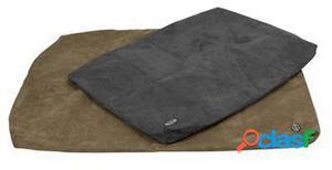 Kruuse Cubierta de Cama Memory Foam Buster gris 100x70cm