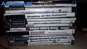 112 Juegos Originales Play Station 2, Mas La Consola