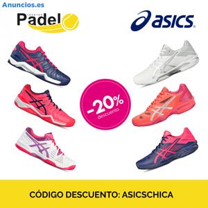 20% De Descuento En Zapatillas De Padel Asics