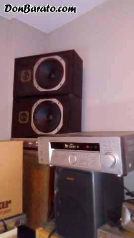 Amplificado sony con sintonizador de radio