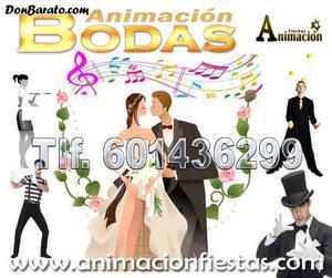 Animación y espectáculos para bodas en madrid