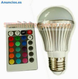 BOMBILLA RGB LED 5w E27