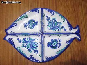 Bandeja ceramica granadina antigua