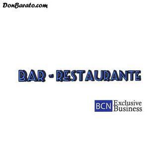 Bar restaurante esquinero con terraza en traspaso
