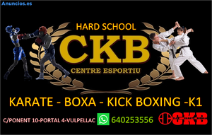 Boxeo Y Karate,Muay Thai,Kick Boxing