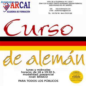 CURSO DE ALEMÁN ADULTOS