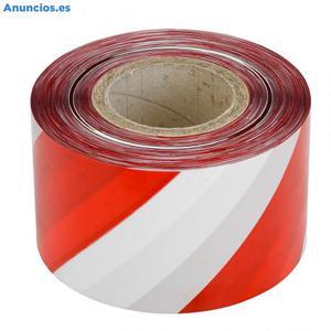 Caja Cinta SeñAlizacion 10cm Gg350 Roja/Blanca