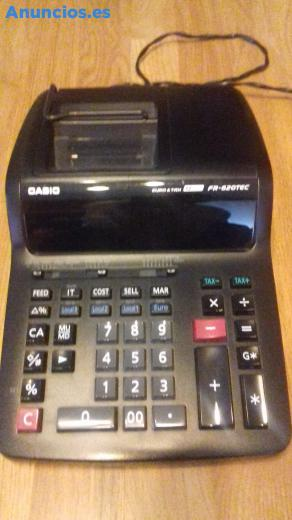 Calculadora Casio Fr620tec