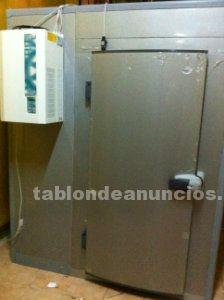 Camaras frigorificas de 2´77 x 1´77 x 2,20 con suelo