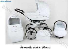 Carro De Bebe De Eco Piel Romantic