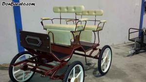 Carro de 4 ruedas para pony
