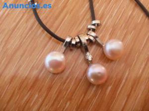 Collar De Perlas De Agua Dulce.