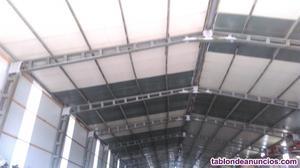 Columnas de catenarias garbanizadas