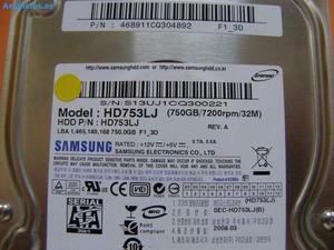 Disco Duro 750GB De 3,5 Para PC