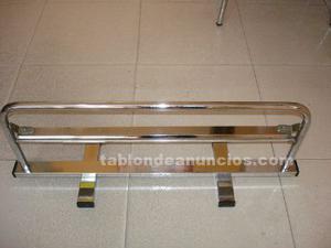 Expendedor de rollo de papel para comercio 65 cm movil