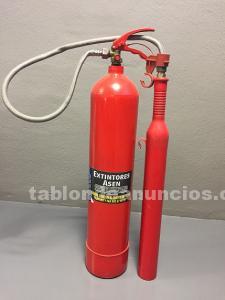 Extintor c02 5 kg