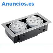 FOCO EMPOTRABLE DE 1, 2, 3 FOCOS LED