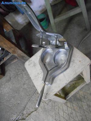 Hamburguesera De Aluminio Pulido Nueva A Estrenar