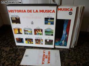Historia de la musica en 10 volumenes