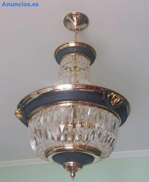 LAMPARA DE DISEÑO DE CRISTAL