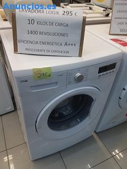 Lavadora A+++, 10 Kg  Rpm