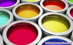 Liquidación de stock de pinturas por cierre de negocio.