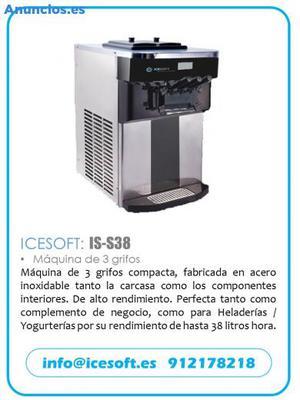 Maquina De Helado Soft/Yogurt Helado. IS38.