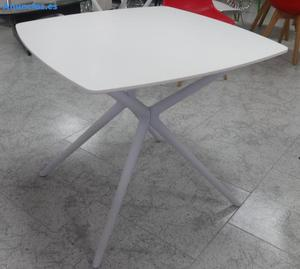 Mesa De Madera Paris, Color Blanco,  Cm