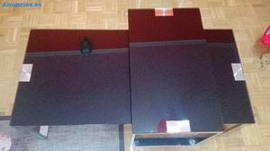 Mesas De Centro En Cristal Negro Lacado