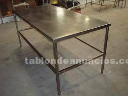 Mesas de trabajo en acero inoxidable