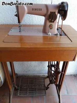 Máquina coser singer antigua y funciona