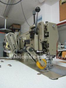 Máquina de coser industrial de vainica, marca mitsubishi.