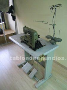 Máquina de coser industrial unión special de dientes de
