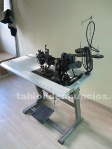 Máquina industrial de vainica singer de principios de siglo