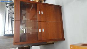 Mueble MóDulo Vitrina 2 Puertas