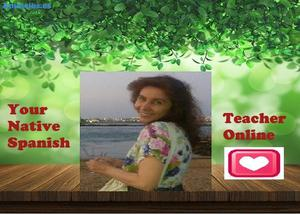 Native Spanish Teacher And Translator Online.