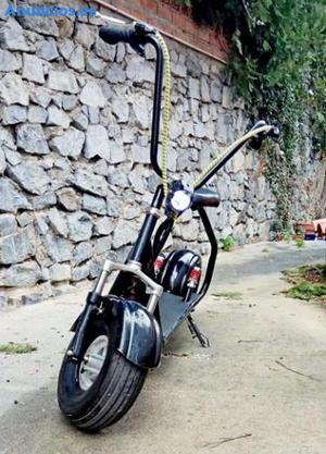 Patinete Electrico Scooter Citycoco Mini Color Negro