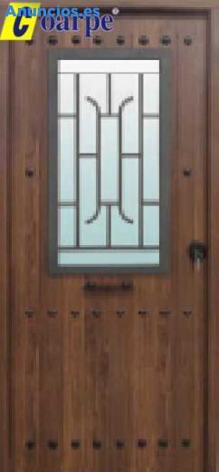 Puerta De Seguridad 900x Mod. Rustica CR