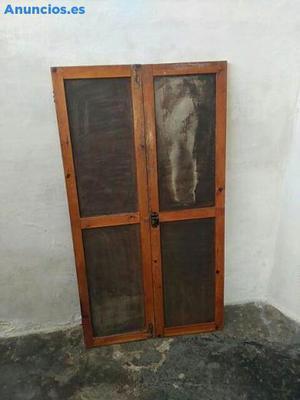 Puertas De Armario Madera Antigua Retro