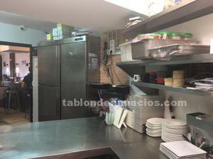 Restaurante bien situado y con clientela