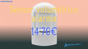 Sensor Volumetrico Compatible Con Alarma Unotec Sas