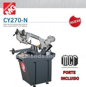Sierra de cinta mg mod. Cy 270 n (manual)