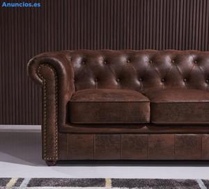 Sofa Chester Detroit Envejecido (Nuevo A Estrenar)