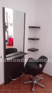 Tocador y silla peluquería