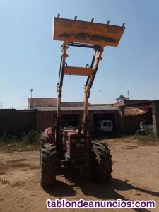 Tractor de gomas same antares 100