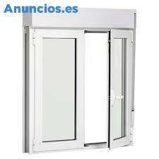 VENTANAS DE PVC BLANCO TRANSPARENTE 2 HOJAS