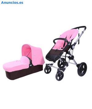 Vendo Baby Ace 042,Cochecito Bebé Dos Piezas En Rosa