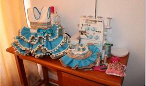 Vendo Vestidos de Flamenca Para Niñas Y Bebes