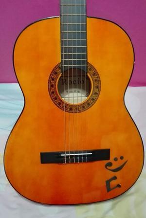 Vendo guitarra con funda y accesorios