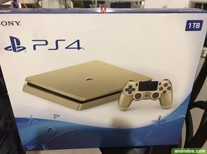 Venta sony playstation 4 oro console con 5 juegos